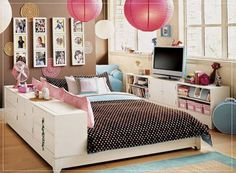55 Motivational Ideas For Design Of Teenage Girls Rooms | Girls,  Inspiration And Design