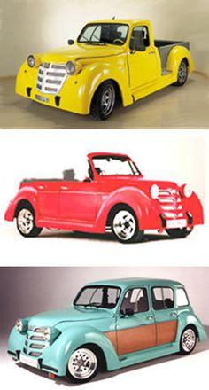 Iguana kits for Renault 4L