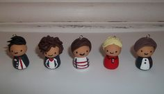 One Direction Polymer Clay Character Charms for Necklaces -   https://www.facebook.com/ItzyBitzyCharms