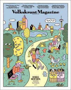 Volkskrant Magazine / artwork Andy Rementer and Margherita Urbani