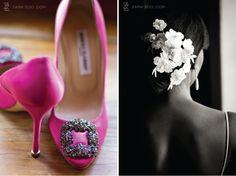{Steal Worthy Wedding} : Modern Glamour | bellethemagazine.com