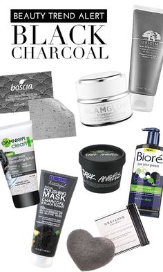 Beauty Trend Alert: Black Charcoal