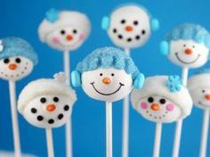 Bakerella's Snowman Cake Pops | Crafter's Holiday CottageCrafter's Holiday Cottage