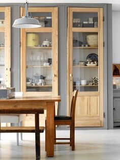 Cabinets in lieu of our hutch?
