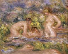 The Bathers by Pierre Auguste Renoir - art print from King & McGaw