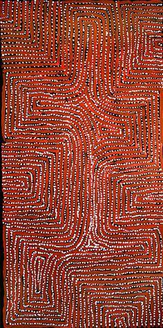George Ward Tjungurrayi ~ Tingari Cycle, 2007