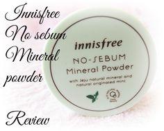 [Innisfree] No sebum mineral powder
