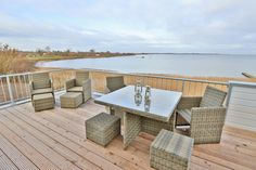 Dachterasse in Herbst Outdoor Furniture Sets, Outdoor Decor, Home Decor, Environment, Paisajes, Baltic Sea, Cottage House, Travel Tips, Balcony