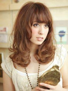 髪型 / ヘアスタイル / ミディアムスタイル / hair style / medium hair style
