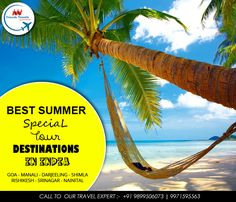 Book Now the best Summer Special Tour Destination in India,Call 9899506073 Friends Travels