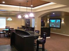 Basement Decorating Ideas | House Decorating Ideas