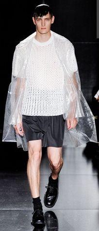 Plastic knit | Jil Sander SS12
