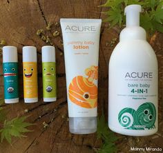Mommy Miranda: ACURE Organics baby line {Review & Giveaway}