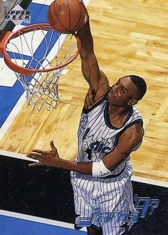 RARE 97/98 UPPER DECK JAMS '97 ANFERNEE HARDAWAY ORLANDO MAGIC MINT