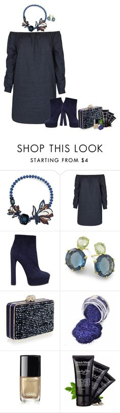 """Untitled #7141"" by lisa-holt ❤ liked on Polyvore featuring Tory Burch, rag & bone, Casadei, Ippolita, Wilbur & Gussie and Chanel"