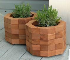 cedar planters from etsy!