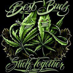 Plush Queen Best Buds Stick Together Pot Leaf Weed Faux Fur Blanket Mary Jane Marijuana Leaves, Medical Marijuana, Cheech Y Chong, Arte Bob Marley, Arte Lowrider, Weed Tattoo, Tattoos, Ink Art, Clown Tattoo