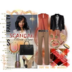 """""""Scandal: Olivia Pope"""" by courtneydanice on Polyvore"""