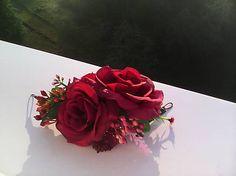 AtaJanson / Kvetinový štvrťvenček do vlasov