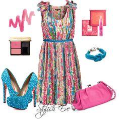 """""""Dress Blossom Flower !"""" by stylisheve on Polyvore"""