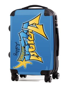 "Custom Cheer Luggage - Vizion Allstars Cheer 20"" Carry-On Luggage, $149.95 (http://www.cheerluggage.com/vizion-allstars-cheer-20-carry-on-luggage/)"