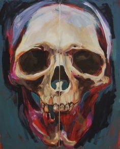 """Saatchi Art Artist Simo Siitonen; Painting, """"King Of The Rotten"""" #art"""