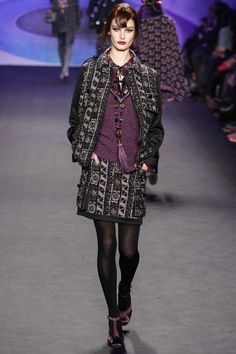 Anna Sui Fall 2014 Ready-to-Wear Fashion Show Anna Sui Fashion, I Love Fashion, Fashion Show, Autumn Fashion, Fashion Outfits, Fashion Design, Fashion 2014, Beautiful Outfits, Cool Outfits