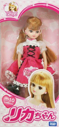 Takara Tomy Licca Doll (from eBay seller tokyo-hobby)
