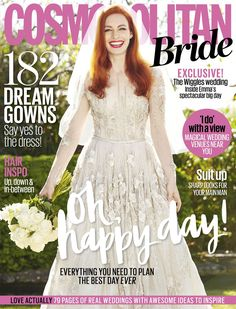 The Wiggles' Emma Watkins gushes about wedding to Cosmopolitan Bride Cosmopolitan, Magical Wedding, Dream Wedding, Down Suit, The Wiggles, Tulle Gown, Yes To The Dress, Up Hairstyles, Formal Dresses