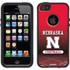 Nebraska Football Field Nebraska design on OtterBox® Commuter Series® Case for iPhone 5 in Black