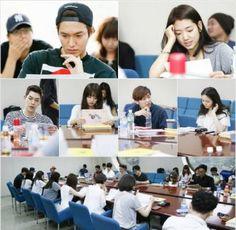 Lee Min Ho, Park Shin Hye, Krystal, Hyungsik, Minhyuk, Kim Woo Bin, & more attend script reading for 'Heirs' | allkpop