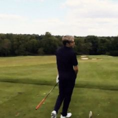 nice but can we talk about the golf getup and that its all back and looks really good can we can we talk can we cAN we