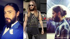 Styling long hair. #Mens #Long #Hair #Tips #TheLabel #Hairstyle #Haircut #Braids #ManBun #Ponytail #GoldenGlobes #2015 #JaredLeto #JakeGyllenhaal #TheLabel