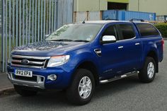 Truckman Grand Hard Top for Ford Ranger 2012 on Double Cab