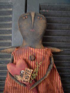 Primitive Valentine doll