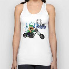 8bit Rider Unisex Tank top @Society6 #tanktop #tshirt #tee #clothing #Harley #harleydavidson #minecraft #8bit #motorcycle #harleydavidsonriders #Sonsofanarchy #anarchyisfreedom #SOA