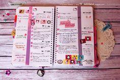 week planner 13# #lucywonderland #wonderland #planner #organizer