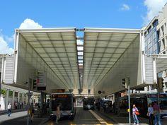Mario Botta   pensilina bus terminal