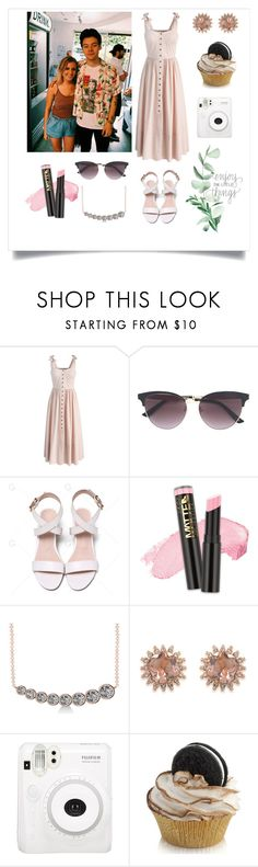 """Conociendo fans con Harry Styles en L.A."" by andyramos-1 ❤ liked on Polyvore featuring Chicwish, Gucci, L.A. Girl, Allurez and Carolee"