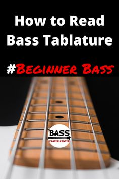 An educational article that teaches you how to read tablature for bass guitar. Learn how to read bass tabs Learn Guitar Chords, Guitar Chords Beginner, Easy Guitar Songs, Bass Ukulele, Bass Guitar Lessons, Guitar Tabs, Music Guitar, Bass Guitars, Bass Guitar Notes Chart