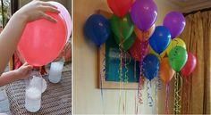 Comment gonfler un ballon sans hélium! pour la déco uniquement car les ballons ne s'envoleront pas!!