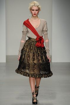 2014 RED LABEL   Vivienne Westwood Red Label | Fall 2014 Ready-to-Wear Collection | Style.com