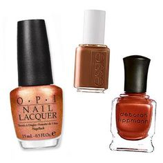 Reader's Pick: This Season's Best Nail Colors - 49 Fans Would Try...Copper from #InStyle
