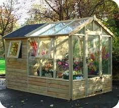 image result for sheds with agreen house attached allotmentgarden sheds