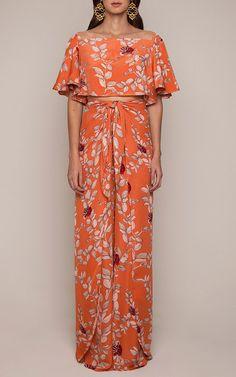 Nectarine Embellished Top by Johanna Ortiz for Preorder on Moda Operandi