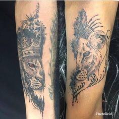 Cute Couple Tattoos Ideas - Jessica Pins - You are in the right place about Cute Couple Tattoos Ideas – Jessica Pins Tattoo Design And S - Weird Tattoos, Love Tattoos, Unique Tattoos, Unique Couples Tattoos, Tattoo For Couples, Ring Tattoos, Married Couple Tattoos, Couple Tattoos Love, Couples Matching Tattoos