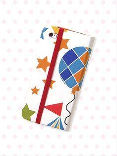 DIY: How to make a smartphone caseお気に入りの布で作る手帳型のスマホケース|NHK「ガールズクラフト」