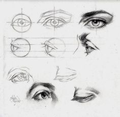 How to draw eyes by christie