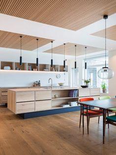 Kitchen Dinning, Wooden Kitchen, Home Decor Kitchen, Kitchen Furniture, New Kitchen, Home Kitchens, Design My Kitchen, Interior Design Kitchen, Küchen Design
