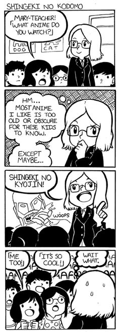 This lady goes to Japan to teach English, and then writes adorable diary comics about her experience. Expect a lot of laughs.